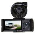 ND Çift Kameralı Araç İçi Kamera+Gps Anten Hediyeli