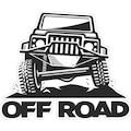 Şeffaf 4x4 Off Road Offroad Spor Rally Arazi Araba Sticker 01020