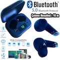 STW-200 Kulak İçi Çift Bluetooth Kulaklık Dijital Şarj Göstergeli