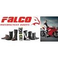 FALCO 896 JUKE 2 BLACK MOTOSİKLET BOTU SİYAH