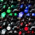 12 Ledli Ayak Altı Led Lamba Kumandalı Sese Duyarlı 2 Model