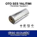 Alüminyumlu Kendinden Yapışkanlı Oto Ses Yalıtımı Aksa Acoustic
