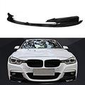 BMW F30 için Piano Black Boyalı Plastik Ön Lip