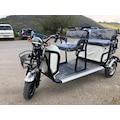 Elektirikli 3 Tekerlekli 3 Kişilik Motosiklet İster Kiraya Verin