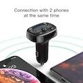 Baseus Çift USB Şarj Bluetooth Handsfree FM Modülatör FM Verici