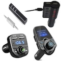 X8 T11 X7 Bluetooth Aux Araç Kiti Fm Transmitter MP3 Çalar Kit