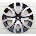 Renault 15 inç Jant Kapağı Takımı 4'lü Çelik Görünüm KOKU HEDİYE