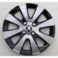 Peugeot 15 inç Jant Kapağı Takımı 4 Adet Çelik Görünüm - HEDİYELİ