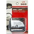 Motosiklet Disk Kilidi - Alarmlı 2 Anahtarlı  Su Geçirmez Gövde