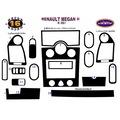 Renault Megane 2 Konsol Kaplama Maun 16 Parça