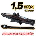 Scissor Jack Cırcırlı Kriko 1,5 Ton Dayanıklı Yeni Üretim Güçlü !
