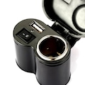 Knmaster Motosiklet Kompakt Çakmaklık Ve USB Şarj Soketi