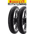 YENİ 2019 Pirelli Super City 80/100-18 47P ve90/90-18 51P YBR,CBF
