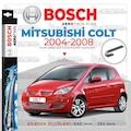 Bosch Aerotwin Mitsubishi Colt 2004 - 2008 Silecek Takımı