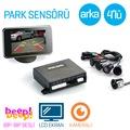 Orijinal Steelmate Arka Kameralı Ekranlı 4lü Park Sensörü