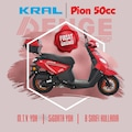 KRAL MOTOR PİON 49cc |  SEZON SONU İNDİRİMİ !