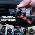 Ahtapot Oto Araba Araç Telefon Tutucu Telefonluk Yeni Nesil 4 Ren