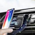 Araç İçi Telefon Tutucu Havalandırma Manyetik Mıknatıslı L-Type
