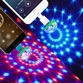 Araç İçi Sese Duyarlı Led Telefon Uyumlu Usb Led Lamba Yılbaşı