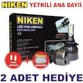 Led Xenon Far Ampul h7 h1 h4 9005 9006 h11 h3 h27 h15 h8 h9 Niken