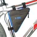 B-Soul Üçgen Fermuarlı Bisiklet Çantası Kadro Arası Su Geçirmez