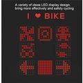 Bisiklet Arka Led Işığı Akıllı Uyarı Sistemli Sinyal Yön Tabelası
