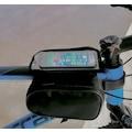 Bisiklet Heybe Çantası Kadro Üstü 6 inç Telefonlu