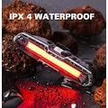 Şarjlı LED USB Stop Arka Lamba Uyarı Işığı Polis Çakar 151 LÜMEN