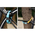 4 Haneli Kod Şifreli Bisiklet Motorsiklet Kiliti PVC Paslanmaz