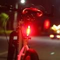 USB Şarj Edilebilir Led Bisiklet İkaz Lambası,Arka Uyarı Lambası