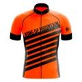 LEO / KOM ORANGE Kısa Kollu Bisiklet Forması