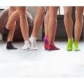 Dry Active Bayan Lila Mor Seamless Spor Çorap