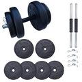Aydın Sport 20 kg Dambıl Seti Ağırlık Seti ve Fitness Seti
