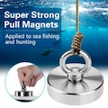 Super Strong Pull Magnets Manyetik Deniz Kurtarma Mıknatısı 30 KG