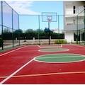 Basketbol Potası Sabit Çember, 105*180 10 mm Cam