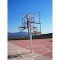Basketbol Potası Üçlü Grup Kademeli Yüks 10 mm Cam