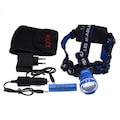 Police PS-1824 Cree T6 Led Zoom Şarj Edilebilir Kafa Feneri