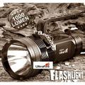 Ultrafire1000 Lümen CREE LED FENER AV KAMP EL FENERİ