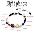 Güneş Sistemi Sekiz Gezegen Solar Bileklik