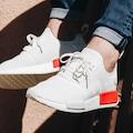B37619 Adidas Nmd_R1 Beyaz Erkek Günlük Spor Ayakkabı