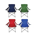 Ege 4 Renk Çantalı Kamp Sandalyesi Balıkçı Plaj Piknik Koltuğu
