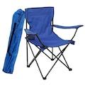 Piknik Masa ve Kamp Sandalye Kamp Koltuk Seti 4+1 Mavi Y594