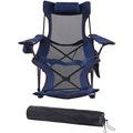 FUNKY CHAIRS Lazy 3 Pozisyonlu Yatabilen Kamp Sandalyesi Mavi