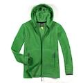 Cottonland RUBY Kadın Kapuşonlu Polar Ceket YEŞİL