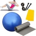 65 Cm Pilates Topu Pilates Minderi Pilates Bantı Atlama İpi Seti