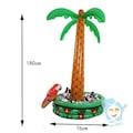 Şişirilebilir Palmiye Ağacı Buzluk Float Bar
