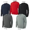 Nike Team Club19 Crew Erkek Sweatshirt AJ1466-BK