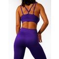 Gymwolves Dikişsiz Spor Tayt   Purple   Seamles Leggings / Moti