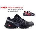 Jump Erkek Spor Ayakkabı Outdoor Siyah Gri 21513