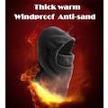 6 fonksiyonlu outdoor-kayak rüzgar geçirmez polar yüz kar maskesi